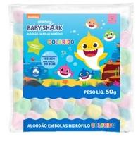Baby Shark, bola, colorido com 50g