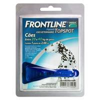 Frontline Topspot para Cães de 20Kg até 40Kg com 1 pipeta de 2,68mL