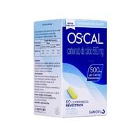 OsCal 500 500mg, caixa com 60 comprimidos revestidos