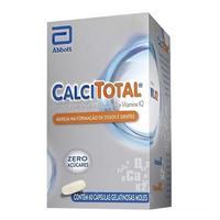 Calcitotal frasco com 60 cápsulas