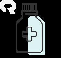 20mg/mL, caixa com 1 frasco com 100mL de xarope + copo