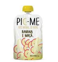 banana e maçã, 100g