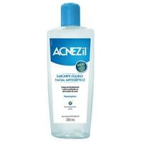 Sabonete Facial Acnezil líquido, 200mL