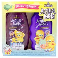 Kit Infantil Acqua Kids Tutti Frutti shampoo, 400mL + condicionador, 400mL