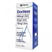 500mg/1,5mL + 10mg/1,5mL + 5mg/1,5mL, caixa com 1 frasco gotejador com 15mL de solução de uso oral