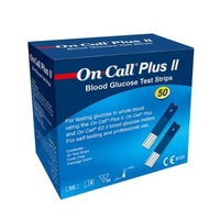 Tiras Reagentes On Call Plus II 50 unidades