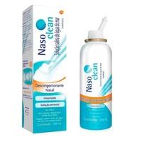 Nasoclean 9mg/mL, caixa com 1 frasco com 125mL de solução de uso nasal