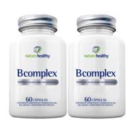 Complexo B Nature Healthy frasco, 2 unidades com 60 cápsulas cada