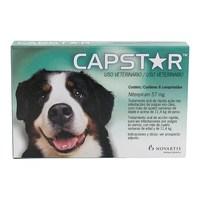 Antipulgas Capstar 57mg, para Cães acima de 11,4kg, 6 comprimidos