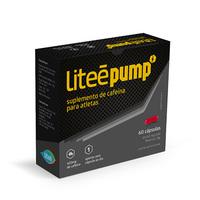 Cafeína Liteé Pump caixa com 60 cápsulas