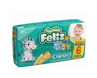 Fralda Turminha Feliz XXG, pacote com 34 unidades + 6 unidades, grátis
