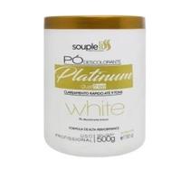 Pó Descolorante SoupleLiss Platinum white com 500g