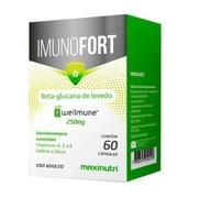 Imunofort 250mg, caixa com 60 cápsulas