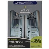 Kit BioHair Anticaspa - shampoo, 350mL + condicionador, 350mL