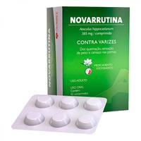 Novarrutina Comprimido 385mg, caixa com 42 comprimidos