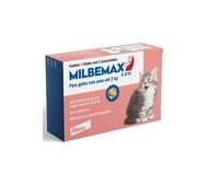 Vermífugo Milbemax Gatos de 0,5Kg a 2Kg, caixa com 2 comprimidos