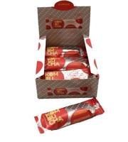 Barra de Nuts Flowbar kombucha, caixa com 12 unidades de 30g cada
