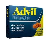 Advil 200mg com 20 comprimidos revestidos