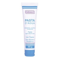 Pasta D'água - Farmax Frasco com 90g de pasta de uso dermatológico