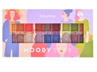 Paleta de Sombras Ruby Rose Moody Type 1 unidade, ref.HB1054