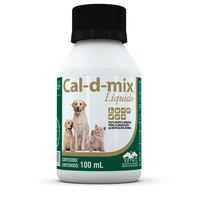 Cal-D-Mix Vetnil - líquido, frasco com 100mL