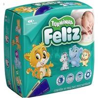 Fralda Turminha Feliz P, pacote com 20 unidades