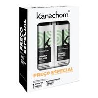 Kit Kanechom Domina Cachos shampoo, 1 unidade com 350mL + condicionador, 1 unidade com 350mL