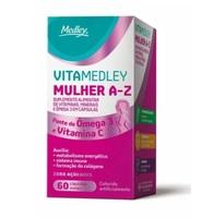 VitaMedley Mulher A-Z caixa com 60 cápsulas moles