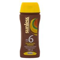 Bronzeador Sunless Cenoura