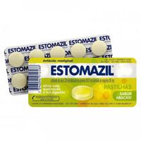 Estomazil Pastilha 230mg + 185mg + 185mg, blíster com 10 comprimidos mastigáveis, abacaxi