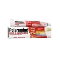Polaramine Creme 10mg/g, caixa com 1 bisnaga com 30g de creme de uso dermatológico