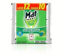 Pastilha Inseticida Mat Inset Leve 10 e Pague 12