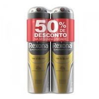 Desodorante Masculino Rexona Motionsense - V8, aerosol, 150mL + 50% desconto na 2ª unidade