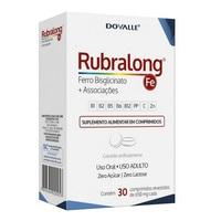 Rubralong 650mg, caixa com 30 comprimidos