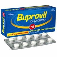 Buprovil Comprimido 300mg, caixa com 30 comprimidos revestidos