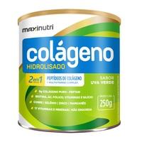 Frasco com 250g de pó para solução de uso oral, sabor uva verde