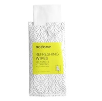 Lenço Facial Océane Refreshing Wipes Cleasing & Hydrating 6 unidades