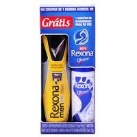 V8, aerosol, 175mL + grátis amostra desodorante aerosol para pés rexona efficient, 34mL