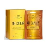 Mel Capilar Amakha Paris caixa com 10 sachês de 30g cada