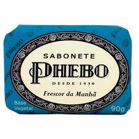 Sabonete Phebo Tradicional frescor da manhã, barra, 1 unidade com 90g