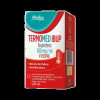 Termomed Ibup 100mg/mL, caixa com 1 frasco gotejador com 20mL de suspensão de uso oral