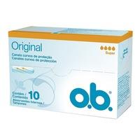 Absorvente Interno OB Original - Super, 10 Unidades