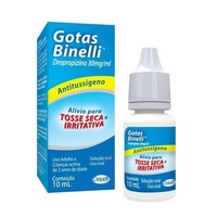Gotas Binelli 30mg/mL, caixa com 1 frasco gotejador com 10mL de solução de uso oral