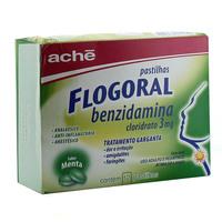 3mg, caixa contendo 12 pastilhas sabor menta