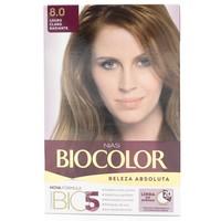 Tintura Creme Biocolor nº 8.0 louro claro radiante