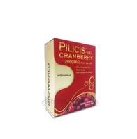 Pilicis Cranberry Gel - 2000mg, caixa com 15 sachês