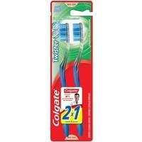 Escova Dental Colgate Twister macia, normal com 2 unidades