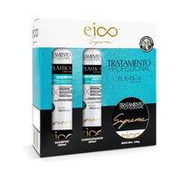 shampoo, 280mL + condicionador, 280mL + máscara de tratamento, 240g