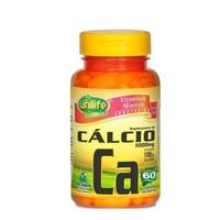 Cálcio Ca Unilife 850mg, frasco com 60 cápsulas
