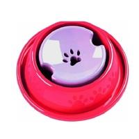 Bebedouro Pet Injet para cães de pelos longos, vermelho